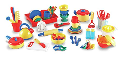 Learning Resources Kitchen Set, 73 Pieces