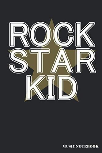 Bass Pop Trumpet - Rock Star Kid Music Notebook: A Music Lover's Blank Lined Journal