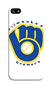 iphone accessory Customizable iphone 5/5s case Baseball Milwaukee Brewers logo