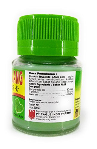 Amazon.com: Balsem Lang Eagle Brand Balm, 40 Gram: Health & Personal Care