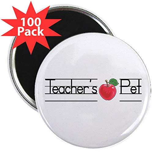 CafePress Teacher's Pet 2.25 Magnet (100 Pack) 2.25