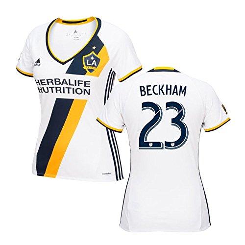硬化する子豚ドナウ川Adidas BECKHAM #23 LA Galaxy Home Women's Soccer Jersey 2016 (Authentic name & number) /サッカーユニフォーム ロサンゼルス?ギャラクシー ホーム用 ベッカム レディース向け