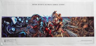 San Diego Comic-Con EXCLUSIVE Bryan Hitch's Ultimate Comics Studio Poster 11