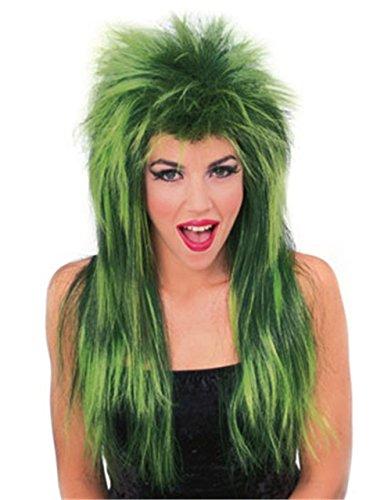 [Rubie's Costume Neon Shag Wig, Green, One Size] (Neon Green Wigs)
