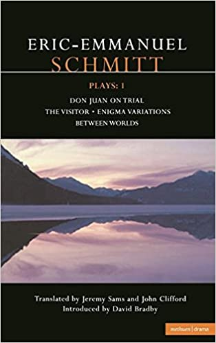 Schmitt Plays: 1: Don Juan on Trial; The Visitor; Enigma Variations; Between Worlds (Contemporary Dramatists) (v. 1)