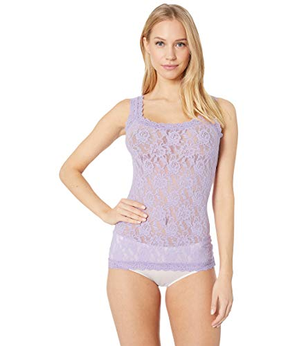 Hanky Panky Women's Signature Lace Unlined Cami Lavender Sachet X-Large - Hanky Panky Baby Doll