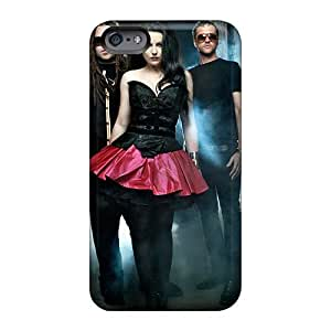 Protective Hard Phone Covers For Iphone 6 With Customized Nice 30 Seconds To Mars Band 3STM Skin JohnPrimeauMaurice