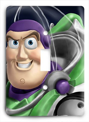 Buzz Lightyear Decor - Buzz Lightyear Light Switch