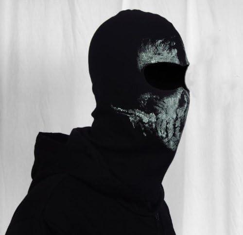 CoolChange pasamonta/ñas negro para motocicleta con imagen de cr/áneo fantasma
