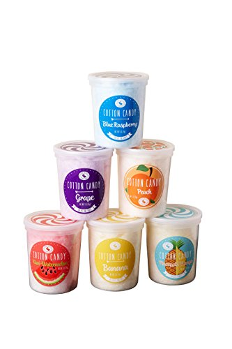 Candy Collection - Fruit Basket Cotton Candy Collection - Pack of 6