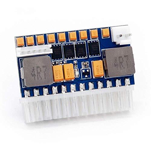 RGEEK 24pin DC ATX PSU 12V DC Input 250W Peak Output Switch DC-DC ATX Pico PSU Mini ITX PC Power (Dc Dc Atx Power Supply)