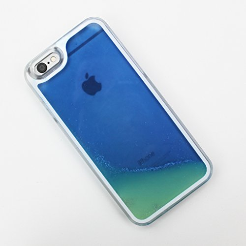 Blue Glow in the Dark Liquid iPhone 6 6S Plus Case