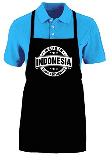 MADE IN INDONESIA (AUTHENTIC) - Funny Apron Ajustable Kitchen Apron by Mighty Ambitious Designs