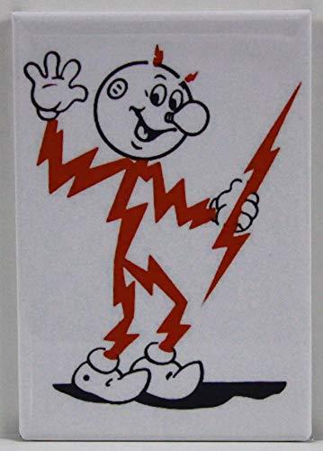 Reddy Kilowatt Refrigerator Magnet. ()