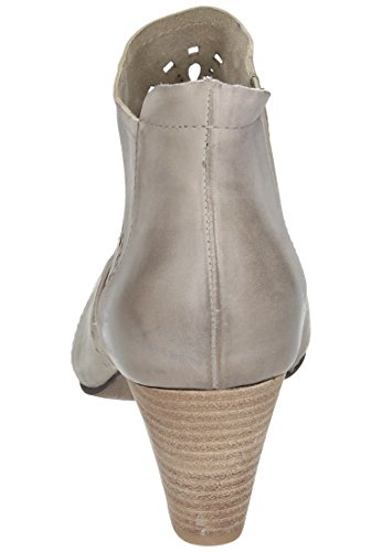 Piazza Piazza Damen Stiefelette - Botas de Piel para mujer Negro negro Hueso - blanco roto