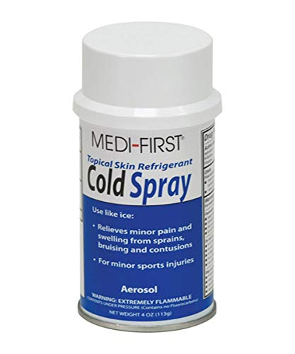 Medique MP230-17 Medi-First Cold Spray, 4 oz, Capacity, Volume, Standard, 4 O, White/Blue