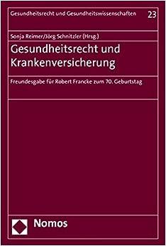 Book Gesundheitsrecht und Krankenversicherung