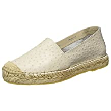 Selected Femme Marley Ostrich Espadrille - Sand (Beige) Womens Shoes