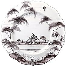 Juliska Cntry Est Dinner Plate Main House-flint