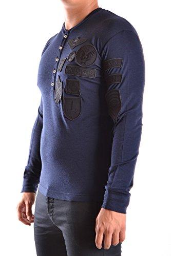 Dsquared2 Herren S74GD0144S22620524 Blau Baumwolle T-Shirt