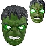 HLLWN Expresss, Hulk LED Light Up Halloween Mask 2014 HLWMSK72