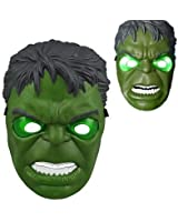 HLLWN Expresss, Hulk LED Light Up Halloween Mask 2014 HLWMSK72