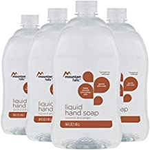 Mountain Falls Liquid Hand Soap Refill Bottle, Coconut and Ginger, Compare to Softsoap, 56 Fluid Ounce (Pack of 4)