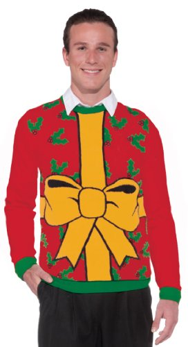 Forum Novelties Wrapped Christmas Sweater
