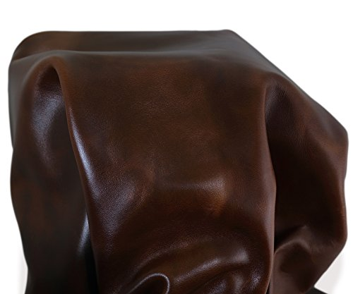 NAT Leathers Tan Brown Oil Pull-up Nappa Soft Upholstery Handbag Cowhide Genuine Cow Leather piece Hide Skin (12