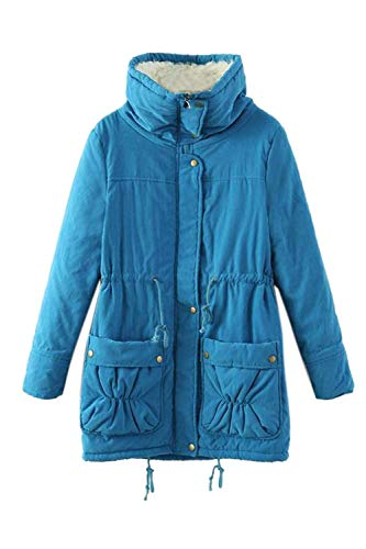 Femme Outdoor Debout Manches Fashion Hiver Longues Col Adelina Casual Warm Manteau Costume Veste Hq8EWzxTX