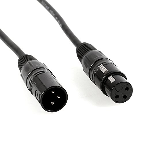 mountain ark 10 pack 3 pin signal xlr connection dmx stage. Black Bedroom Furniture Sets. Home Design Ideas