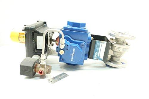 KF CONTROMATICS 2801 212A M2 Pneumatic 150 1IN Control Valve D623425 from K F Contromatics