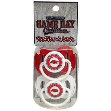 (University of Arkansas Pacifier Pack )