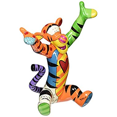 Enesco Disney by Britto by Enesco Tigger Figurine, 8.25