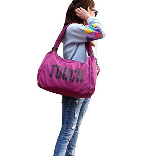 Fitness Travel 1 Gym Bags pink style Training Women Bag Sport hot X6wqI7q