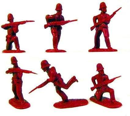 1:32 Zulu War Infantaria Britânica /& Zul Pintada * Terreno