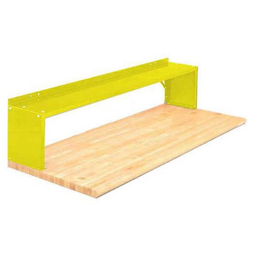 30'' Aerial Shelf For Bench, Safety Yellow