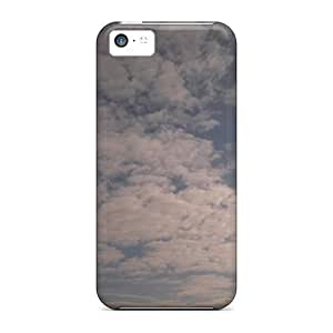 High-end Case Cover Protector For Iphone 5c(clouds)