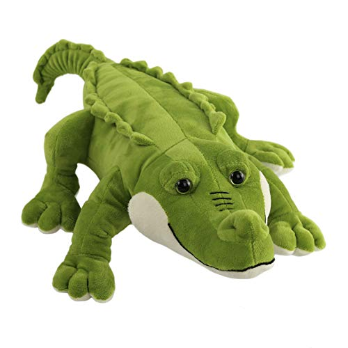 (Athoinsu Stuffed Crocodile Plush Animal Realistic Jumbo Alligator Soft Toy Festival Gifts for Kids Friends, 20'' )