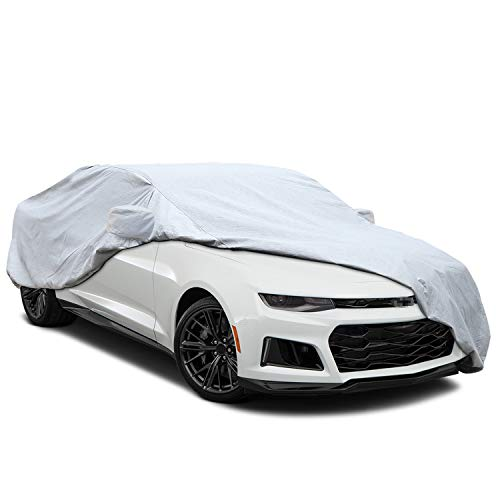 - KAKIT 6 Layers Camaro Car Cover for Chevrolet Camaro 2010-2016, All Weather Waterproof Windproof Dustproof Scratch Proof Camaro Cover, Free Windproof Ribbon & Anti-theft Lock