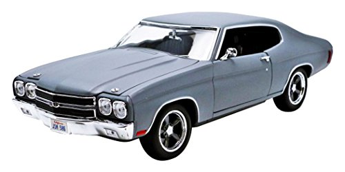 Chevy Chevelle Pedal Car - Greenlight 1:18 Fast and Furious (2009) - Dom's 1970 Chevy Chevelle SS 1/18 - Primer Grey