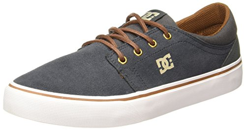 Hombre Grey Dc Shoes Sd Charcoal Zapatillas Trase Para wxn1PX0Cq1
