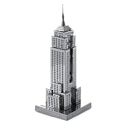 Intricate Metal - Fascinations Metal Earth Empire State BUIL