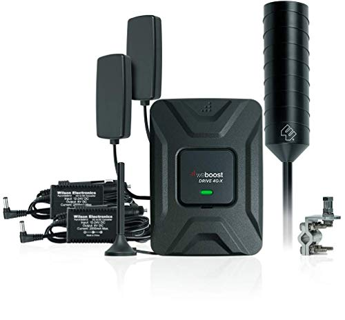 weBoost Drive 4G-X OTR Cell Phone Signal Booster for Truckers, Big Rig to Vehicle Bundle, Includes Mini Mag and in-Vehicle Server Antennas, AC/DC/CLA Power Supply. Boosts 4G/LTE/3G Signals (Best Source Of Cla)