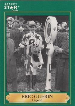 Eric Guerin trading card (Horse Racing) 1991 Jockey Star #15