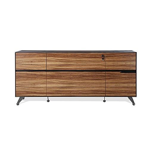 UPC 847365031047, Unique Furniture 493-ZE Storage Credenza, Zebrano