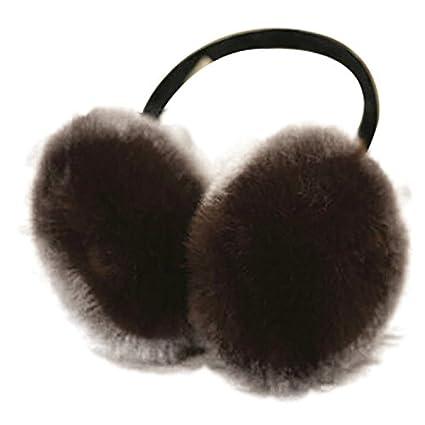 Ohrenschutz Ohrenschützer für Damen Mädchen Materialien in Velours für Winter leicht und Molle Design Einfache 2 Naisidier