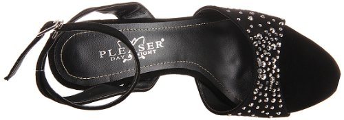 Pleaser Day & Night - Sandalias mujer, color negro, talla 40 (7 UK)