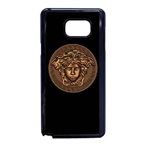 Samsung Galaxy Note 5 Cell Phone Case Black Versace QY8518062