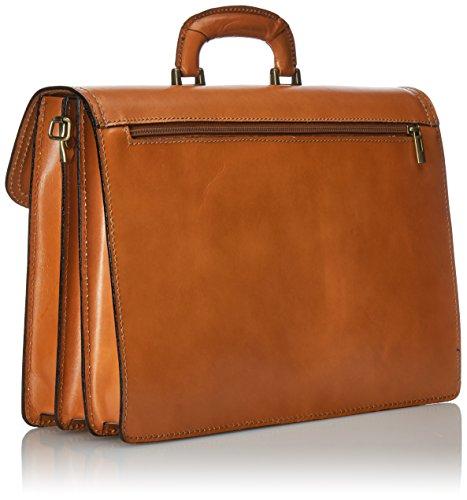 Chicca Borse Unisex Adults Bag Organisers Orange Cuoio